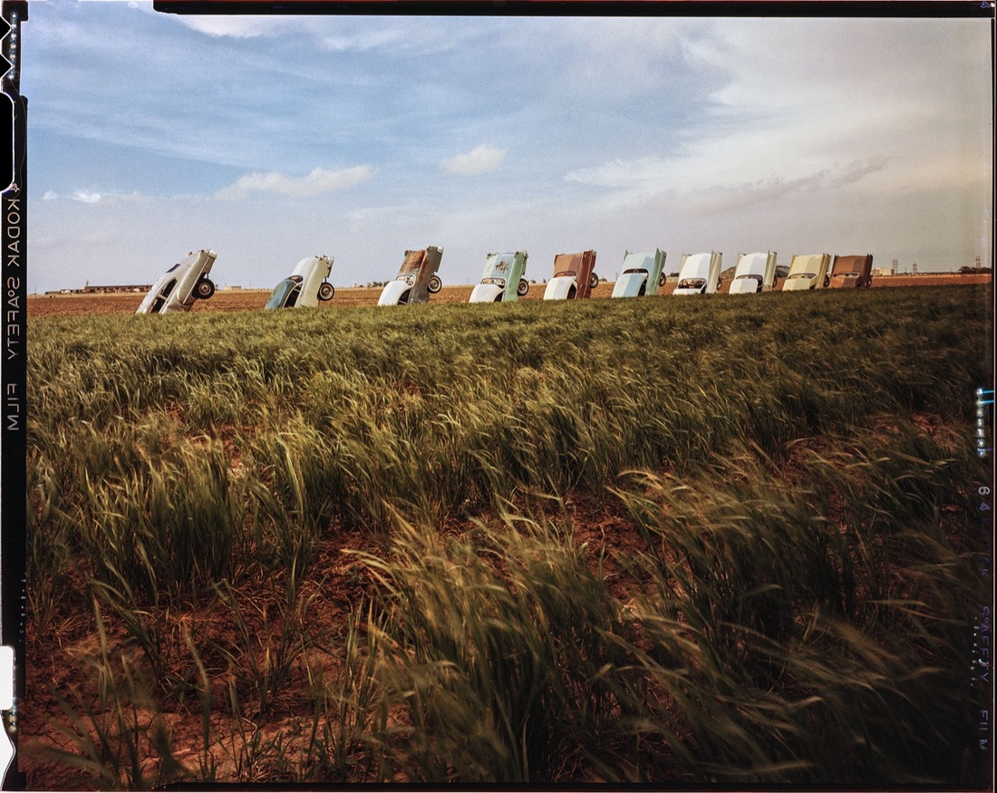 Cadillac Ranch 1976
